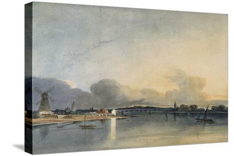 The White House, Chelsea-Thomas Girtin-Stretched Canvas Print