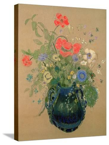 Vase of Flowers, c.1905-08-Odilon Redon-Stretched Canvas Print