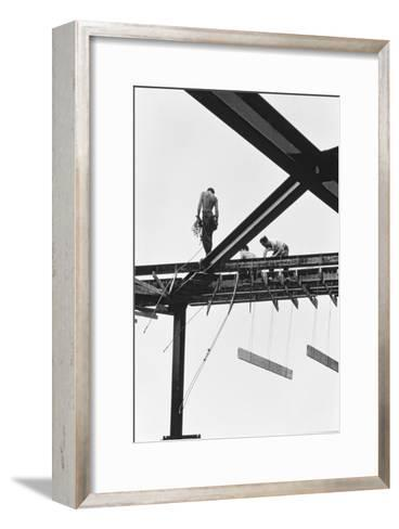 New York City, Untitled 7, c.1953-64-Nat Herz-Framed Art Print
