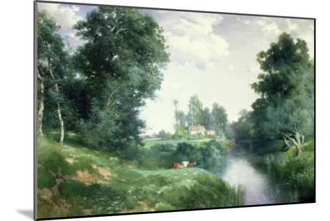 A Long Island River, 1908-Thomas Moran-Mounted Giclee Print