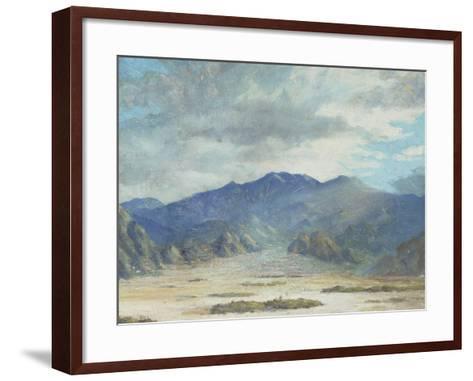 California Desert Scene-Harold Arthur Streator-Framed Art Print