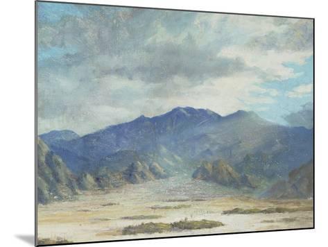 California Desert Scene-Harold Arthur Streator-Mounted Giclee Print