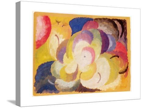 Still Life with Apples, 1915-Alexander Bogomazov-Stretched Canvas Print