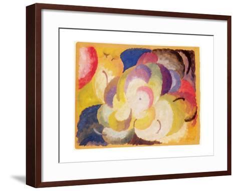 Still Life with Apples, 1915-Alexander Bogomazov-Framed Art Print
