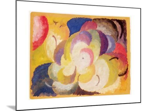 Still Life with Apples, 1915-Alexander Bogomazov-Mounted Giclee Print