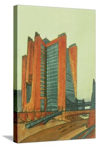 La Citta Nuova, 1913-Antonio Sant'Elia-Stretched Canvas Print