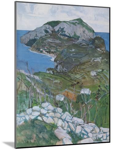 Capri, c.1904-Maurice Greiffenhagen-Mounted Giclee Print