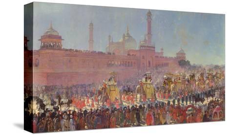 The Delhi Durbar, 1903-Roderick D. MacKenzie-Stretched Canvas Print