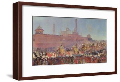 The Delhi Durbar, 1903-Roderick D. MacKenzie-Framed Art Print