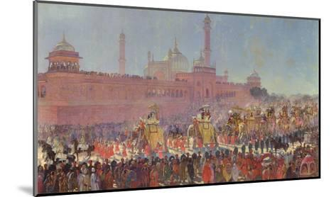 The Delhi Durbar, 1903-Roderick D. MacKenzie-Mounted Giclee Print