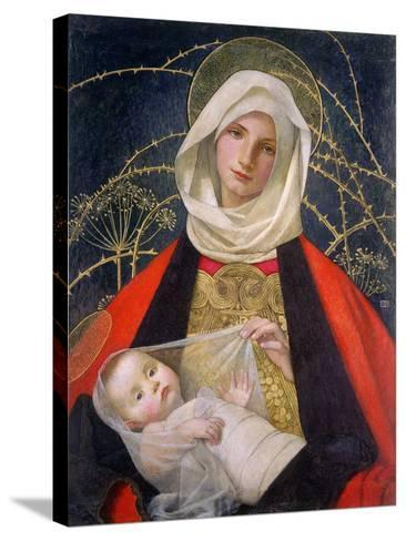 Madonna and Child, 1907-08-Marianne Stokes-Stretched Canvas Print