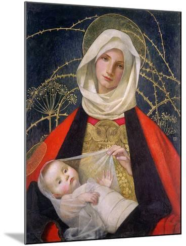 Madonna and Child, 1907-08-Marianne Stokes-Mounted Giclee Print