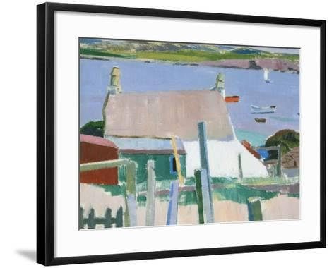 Iona, Towards Mull, c.1927-Francis Campbell Boileau Cadell-Framed Art Print
