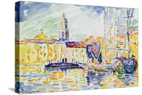 The Harbour at St. Tropez, c.1905-Paul Signac-Stretched Canvas Print