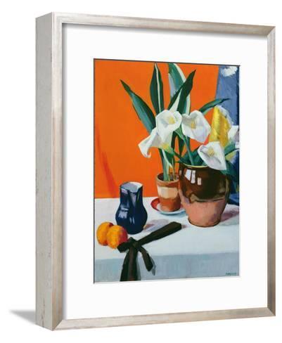 Arum Lilies-Francis Campbell Boileau Cadell-Framed Art Print