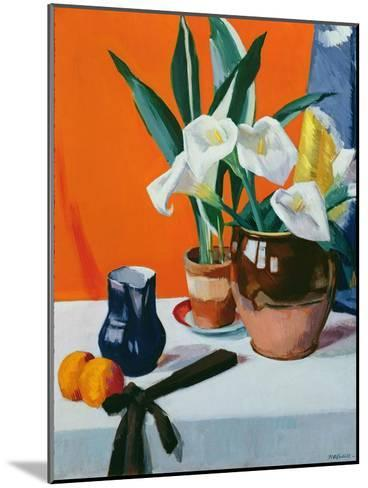 Arum Lilies-Francis Campbell Boileau Cadell-Mounted Giclee Print