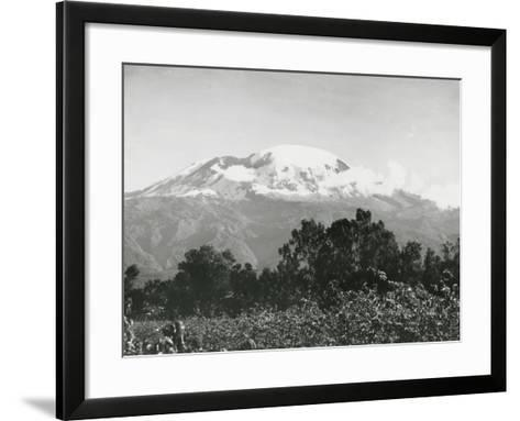 Mount Kilimanjaro, Tanzania, 1920-English Photographer-Framed Art Print