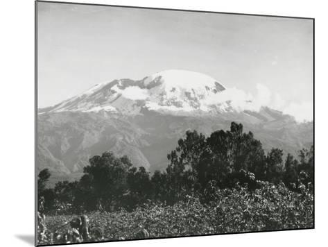 Mount Kilimanjaro, Tanzania, 1920-English Photographer-Mounted Photographic Print