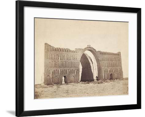 Ctesiphon, Near Baghdad, 1901-English Photographer-Framed Art Print