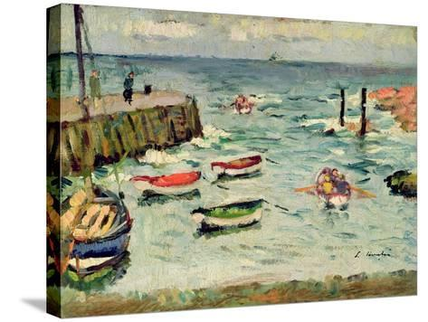 A Summer Day, Largo-George Leslie Hunter-Stretched Canvas Print