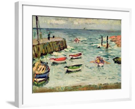 A Summer Day, Largo-George Leslie Hunter-Framed Art Print