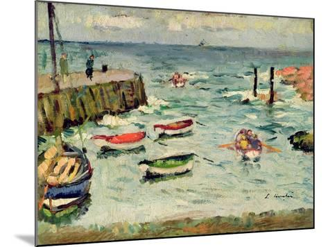 A Summer Day, Largo-George Leslie Hunter-Mounted Giclee Print