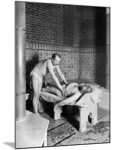 A Hammam in Paris, c.1900-French Photographer-Mounted Photographic Print