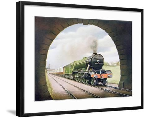 The 'Queen of Scots' of the North Eastern Railway, Illustration from 'The Wonder Book of…-English School-Framed Art Print
