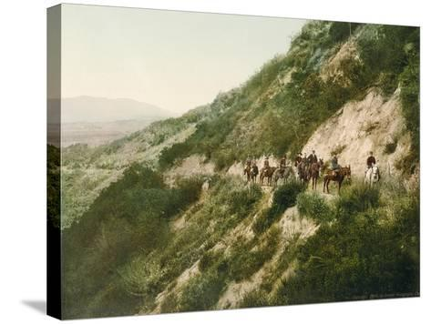 Old Trail to Mount Wilson, Pasadena, California, 1900-American School-Stretched Canvas Print