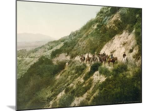 Old Trail to Mount Wilson, Pasadena, California, 1900-American School-Mounted Giclee Print