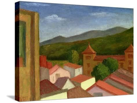 The Monastery, 1934-Mark Gertler-Stretched Canvas Print