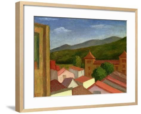 The Monastery, 1934-Mark Gertler-Framed Art Print