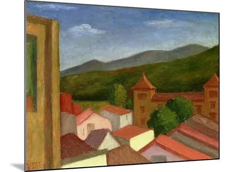The Monastery, 1934-Mark Gertler-Mounted Giclee Print