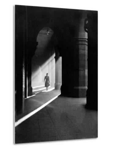 The Arches in Howard Street, 1955--Metal Print
