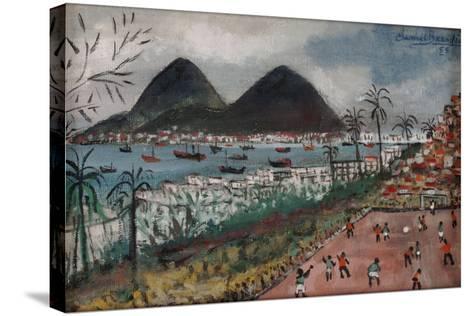 Football at Rio de Janeiro-English School-Stretched Canvas Print