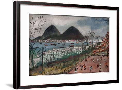 Football at Rio de Janeiro-English School-Framed Art Print