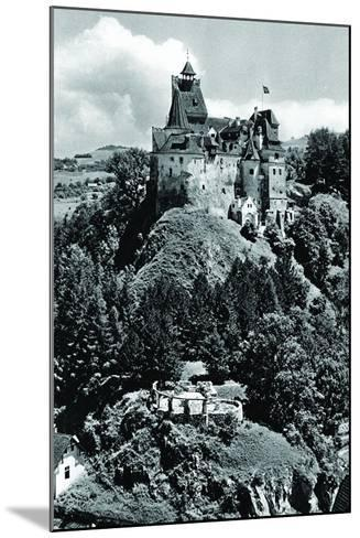 Bran Castle--Mounted Photographic Print