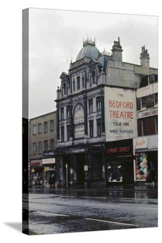 The Bedford Music Hall, Camden Town, 1968--Stretched Canvas Print