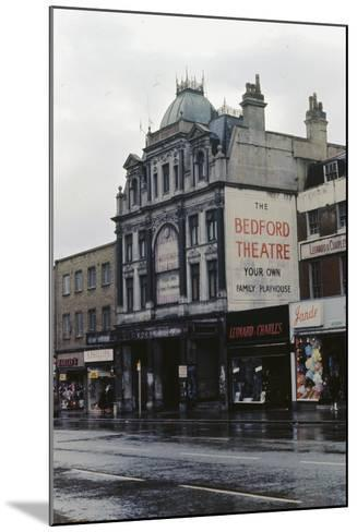 The Bedford Music Hall, Camden Town, 1968--Mounted Photographic Print