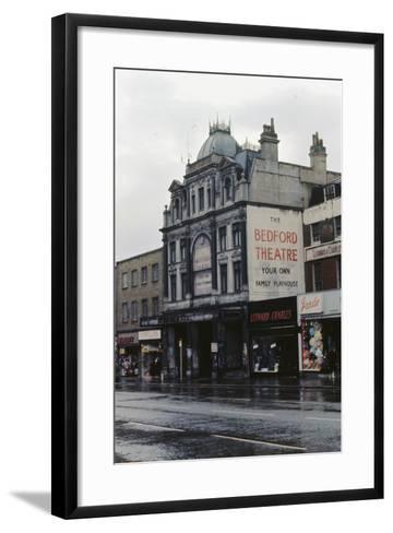 The Bedford Music Hall, Camden Town, 1968--Framed Art Print