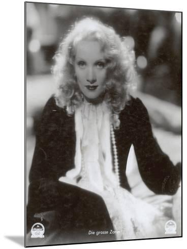 """Still from the Film """"The Scarlet Empress"""" with Marlene Dietrich, 1934-German photographer-Mounted Photographic Print"""