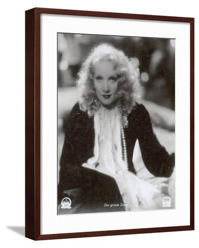 """Still from the Film """"The Scarlet Empress"""" with Marlene Dietrich, 1934-German photographer-Framed Art Print"""