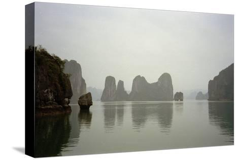 Ha Long Bay, Vietnam, 1999--Stretched Canvas Print