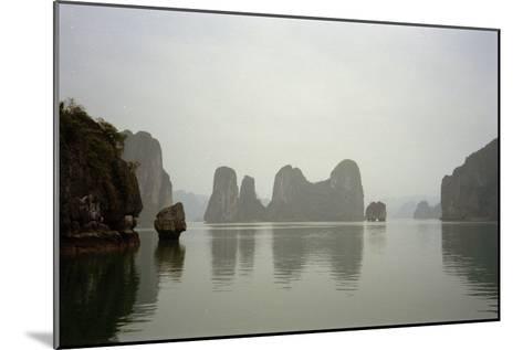Ha Long Bay, Vietnam, 1999--Mounted Photographic Print