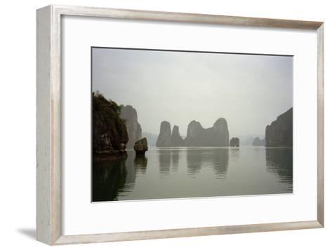 Ha Long Bay, Vietnam, 1999--Framed Art Print