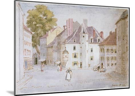 Beaune, 1902-Roger Eliot Fry-Mounted Giclee Print