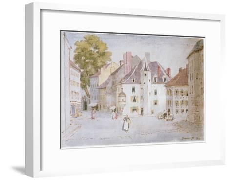 Beaune, 1902-Roger Eliot Fry-Framed Art Print
