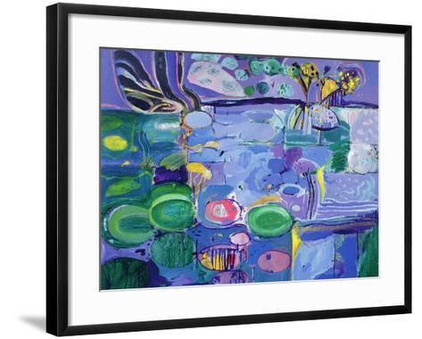 Giverny, 1990-92-Derek Balmer-Framed Art Print