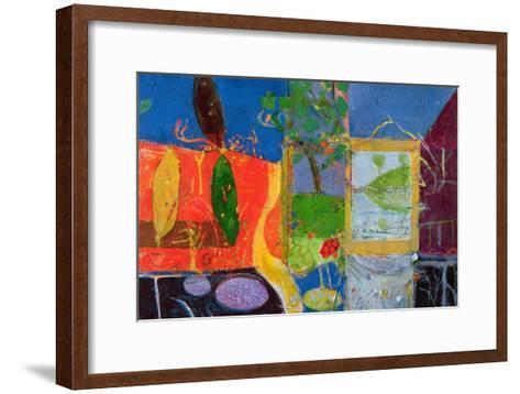Bellagio (Lake Como), 1989-91-Derek Balmer-Framed Art Print