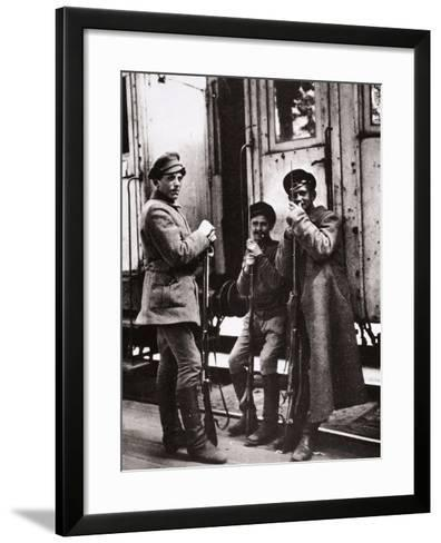 Young Red Guards-Russian Photographer-Framed Art Print